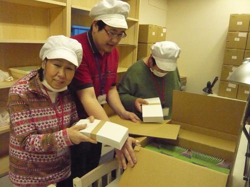 菓子箱作り